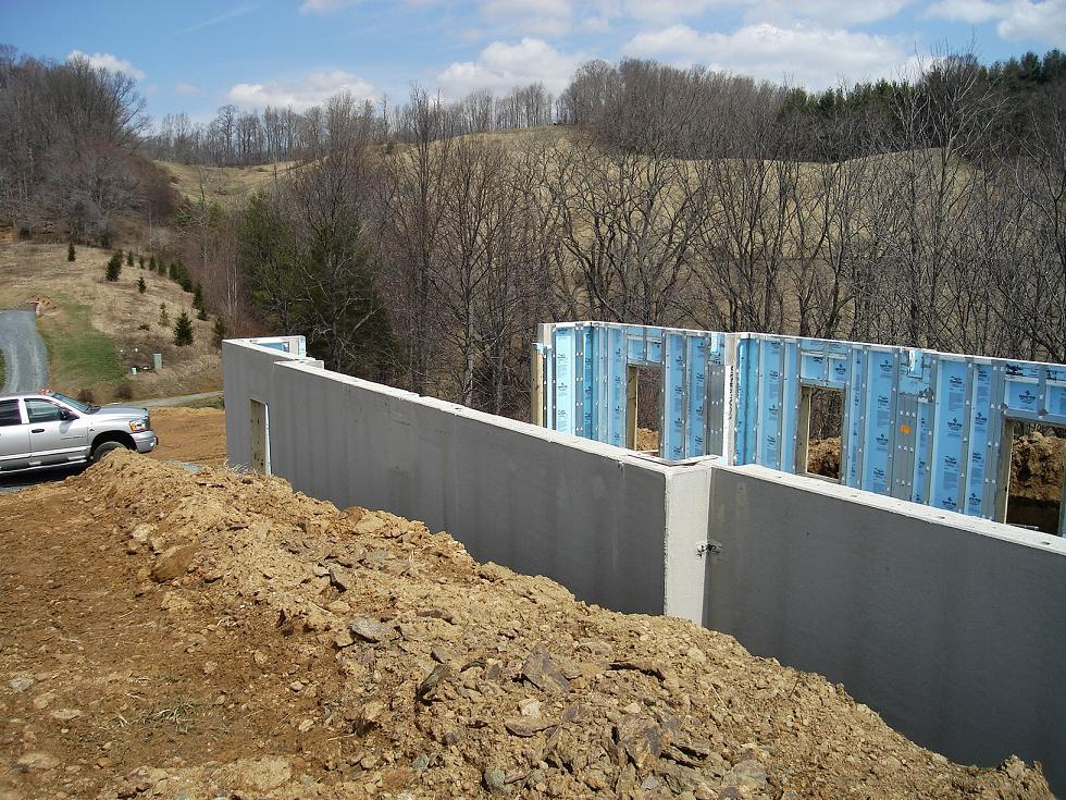 Lot 5 lcc for Superior foundation walls