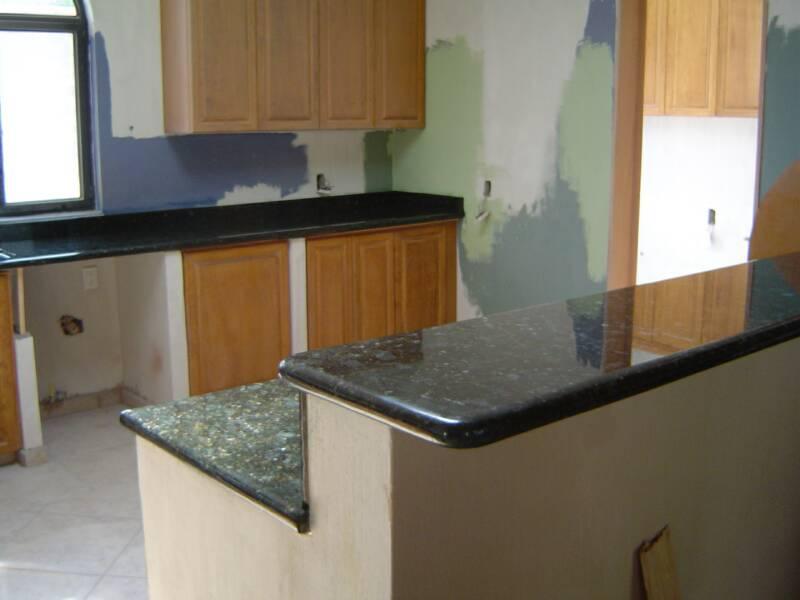 Granite Countertop Companies : Granite Countertops and marble columns